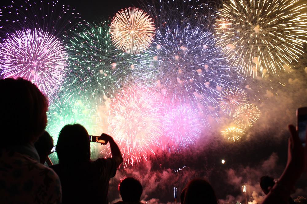 2018年東海地方の花火大会